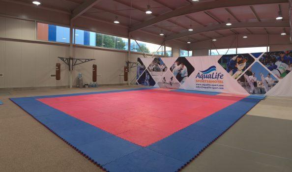 Mультифункциональный зал для единоборств и игровых видов спорта