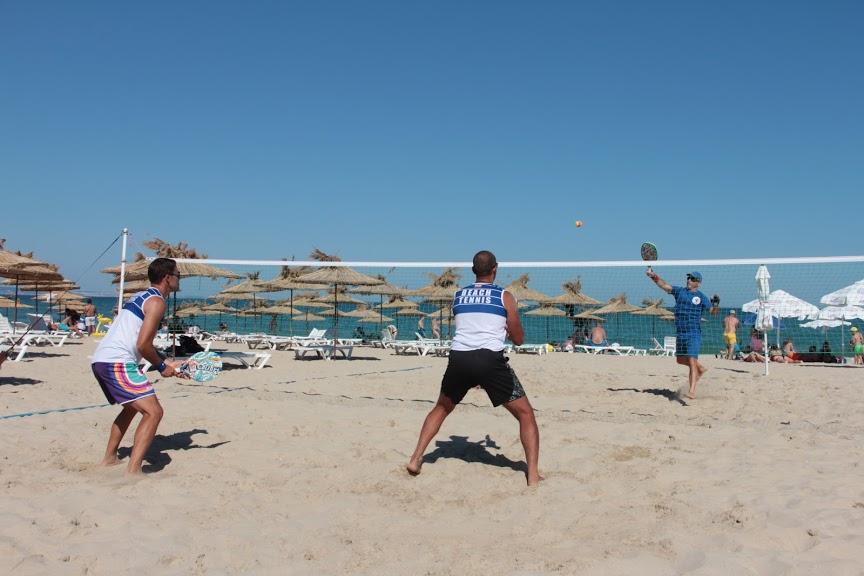 Соревнования по пляжному теннису