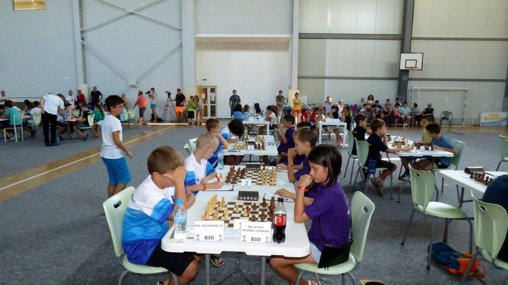 Шахматный лагерь на море