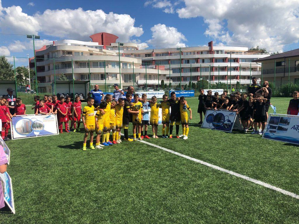 юношеский футбольный турнир