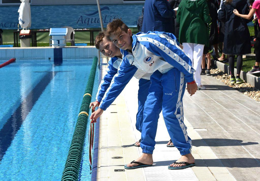 Спортивный лагерь по плаванию