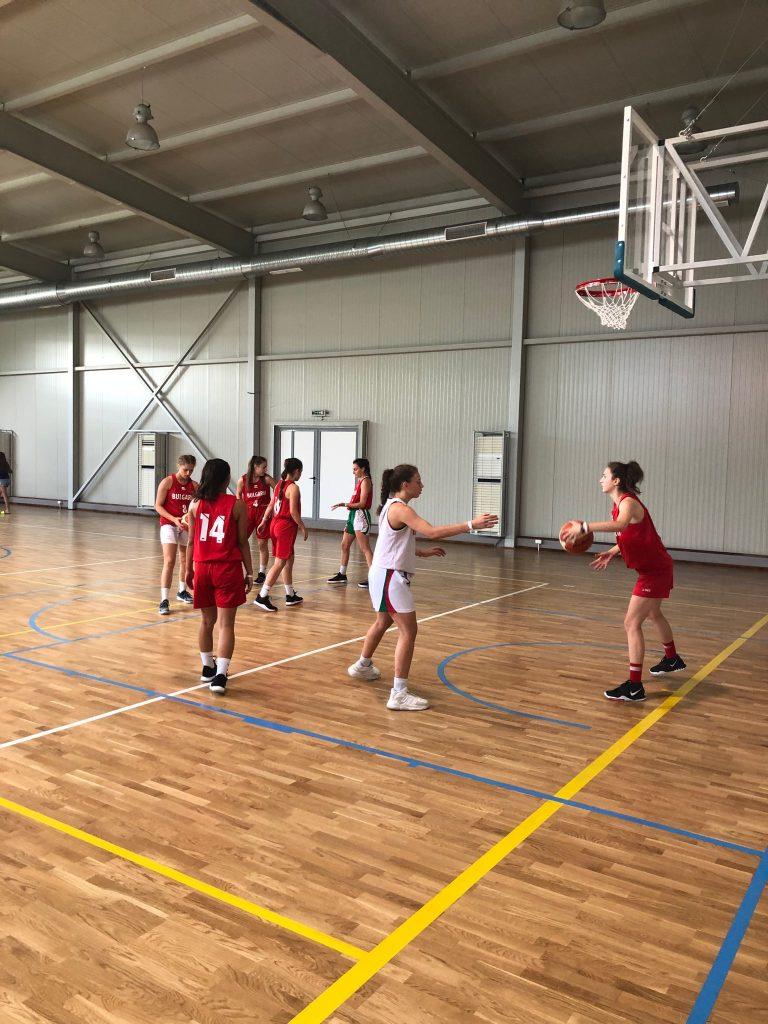 Тренировочный лагерь по баскетболу