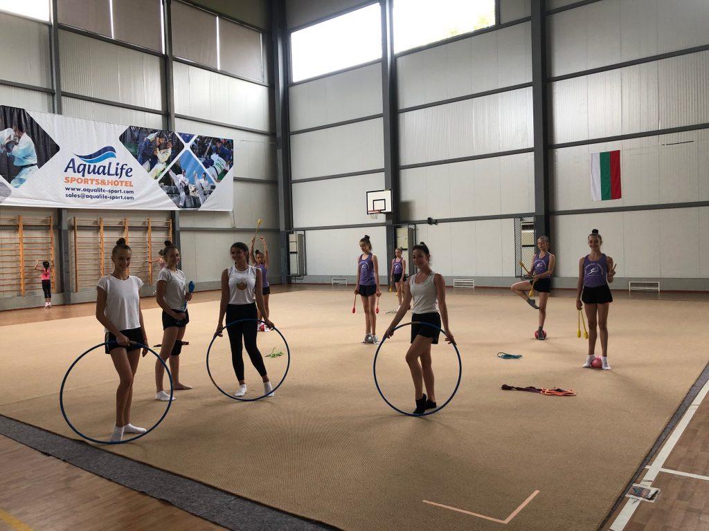 Тренировочные сборы по художественной гимнастике