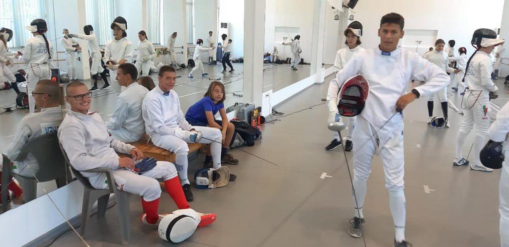 Летний спортивный лагерь по фехтованию